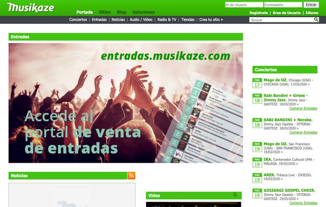 Promocionar eventos en Musikaze