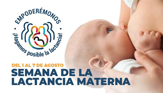 Semana Mundial de la Lactancia Materna: Proteger la Lactancia Materna: una responsabilidad compartida