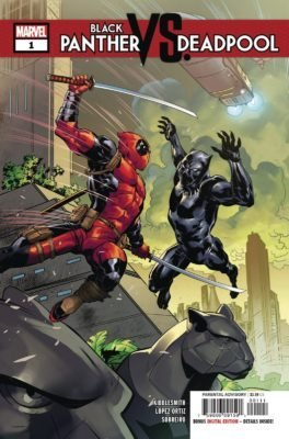 Black Panther vs Deadpool Volumen 1 (5 de 5) Cbr Español