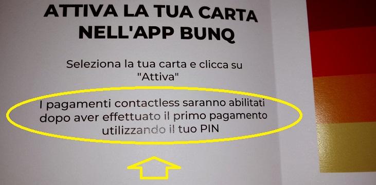 Bunq! 3 Bellissime carte +Bonifici Istantanei e 25 IBAN usa e getta INCLUSI + PROMO 10,00 € DI APERTURA Carta-Arrivata-Mia3