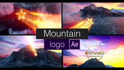 Mountain Logo 23013078 - Project for After Effects (Videohive)