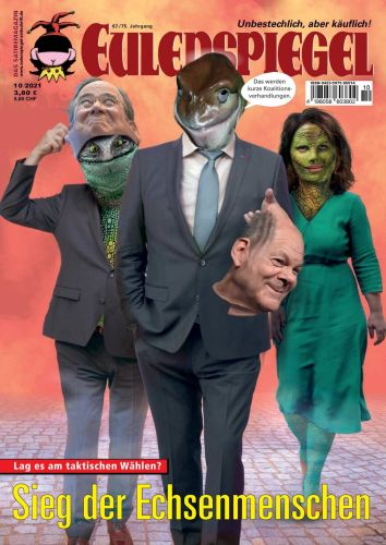 Cover: Eulenspiegel Satiremagazin Oktober No 10 2021