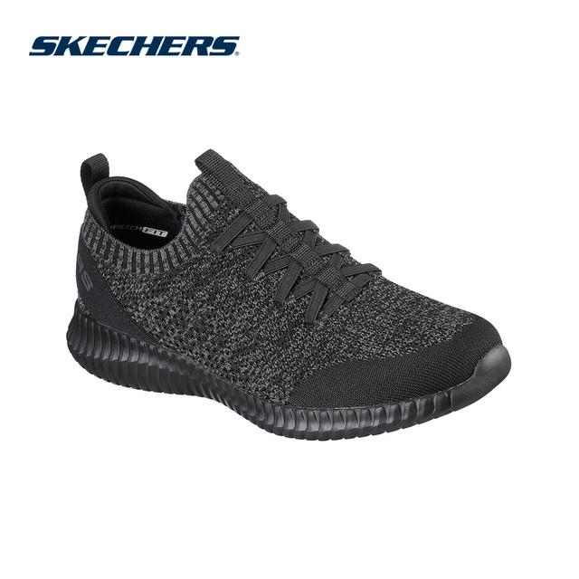 Skechers Giày Thể Thao Nam Elite Flex - 232048-BBK