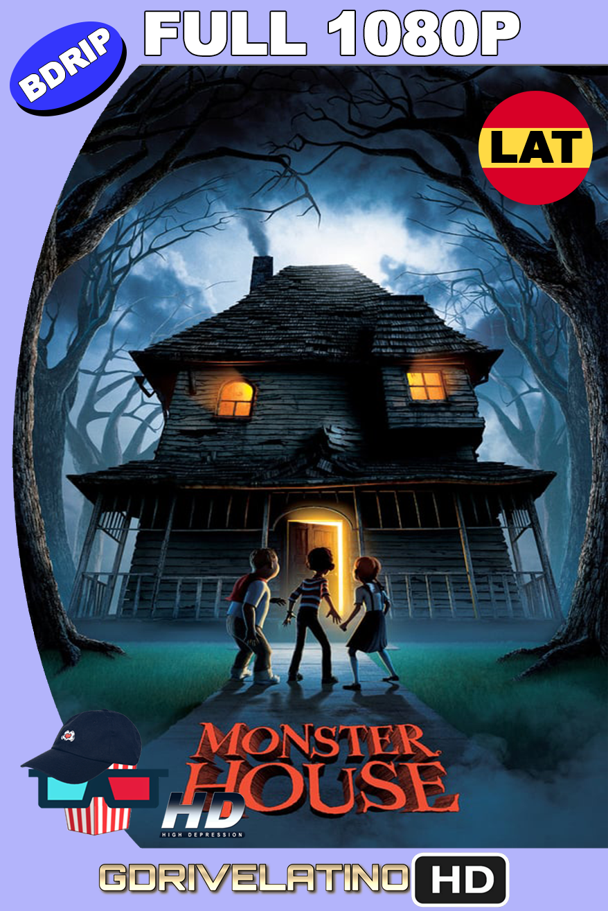 Monster House: La Casa de los Sustos (2006) BDRip 1080P latino-ingles MKV
