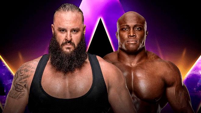 Strowman vs Lashley
