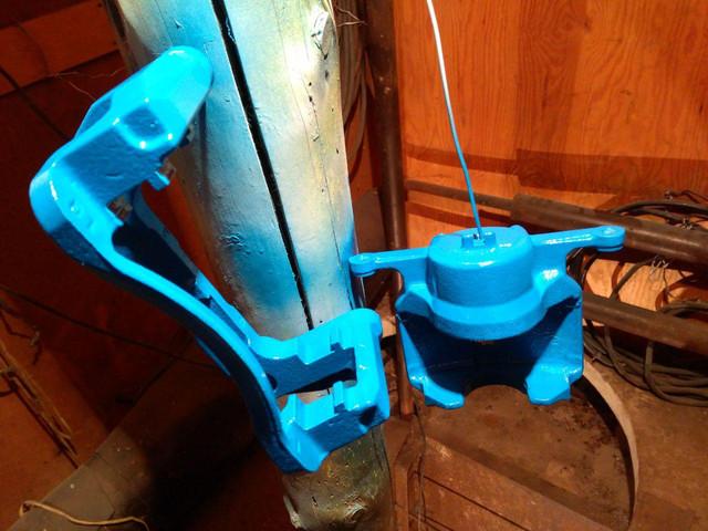 Синяя высокотемпературная краска для тормозных суппортов.