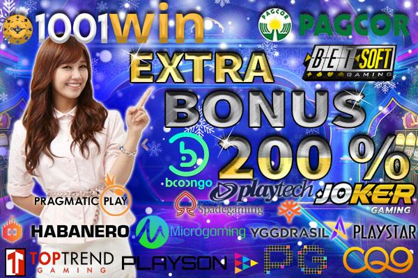 Agen Slot Promo Bonus Terbesar 1001WIN