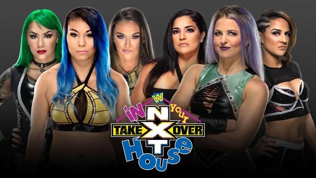 Mia, Nox y Shotzi vs. LeRae, Dakota y Raquel