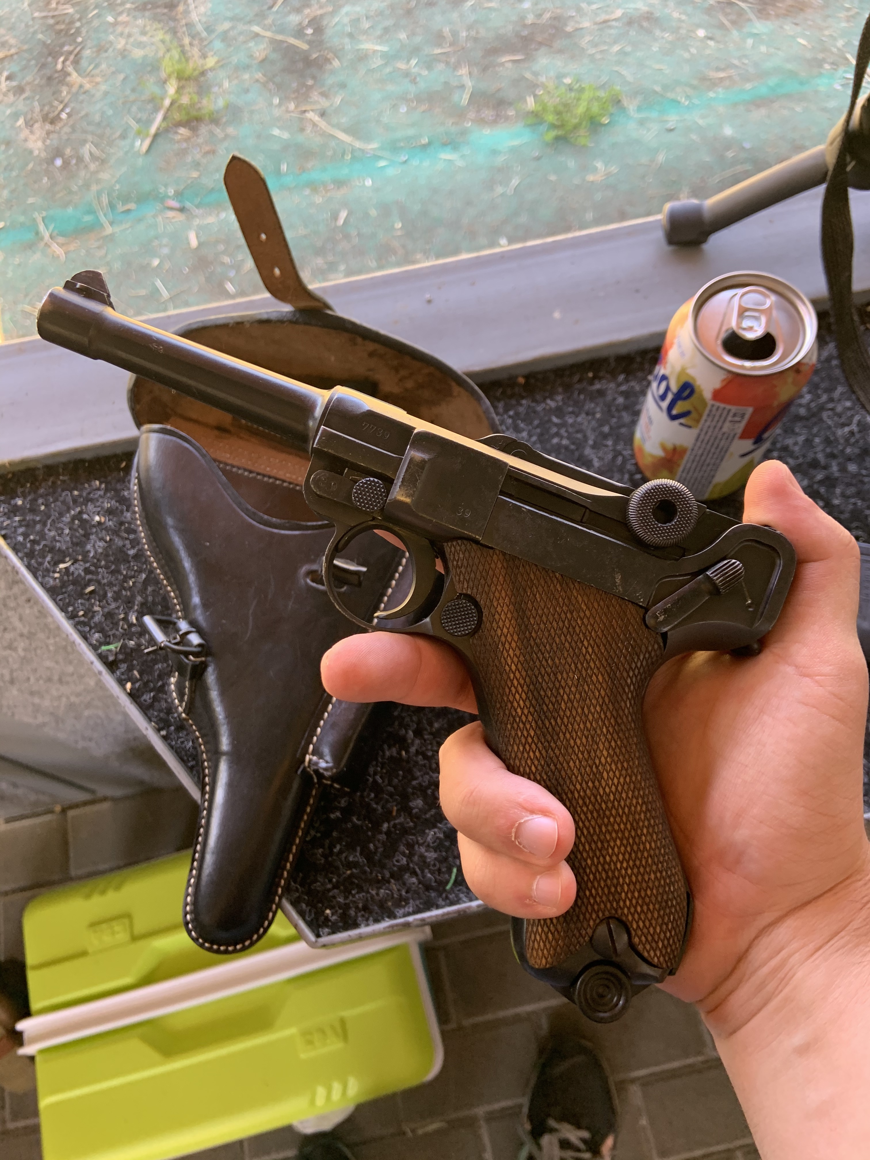 Despite its age, the pistol is in excellent condition! Parabellum pistole Model 1908