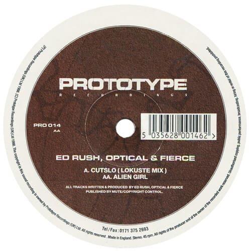 Download Ed Rush, Optical & Fierce - Cutslo / Alien Girl mp3