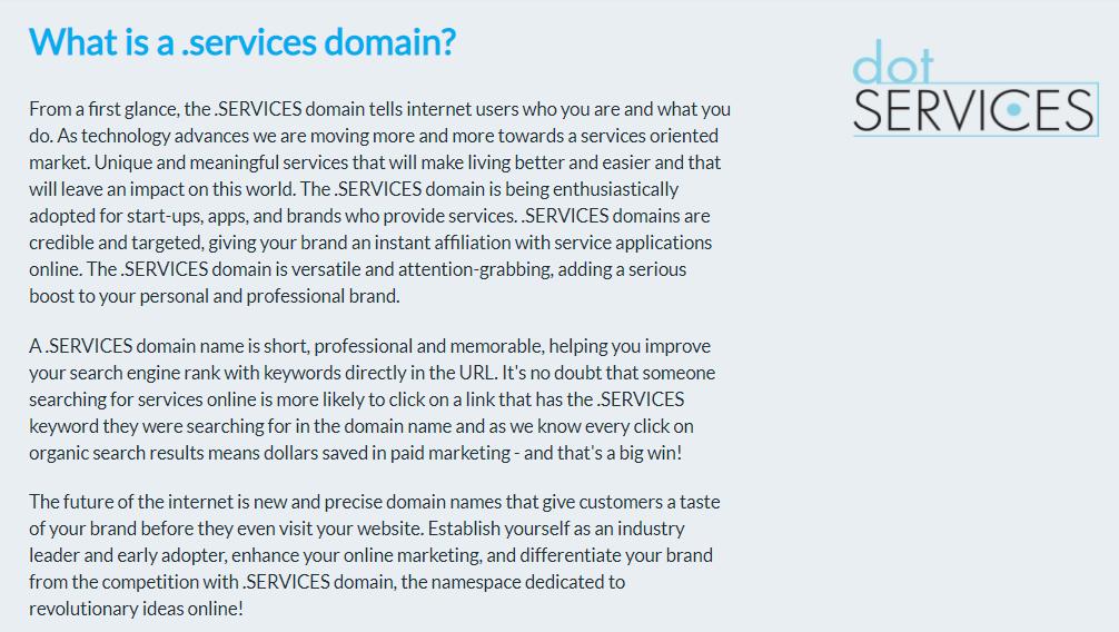 dot-services