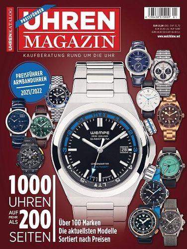 Cover: Uhren Magazin Spezial Preisführer 2021-2022