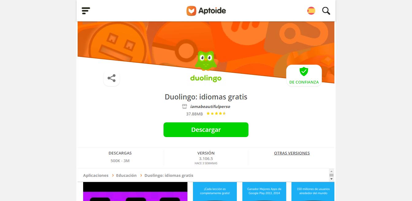 No sólo aprenderás a descargar la APK de Duolingo desde Play Store, también te enseñamos para PC, iOS y otras plataformas.