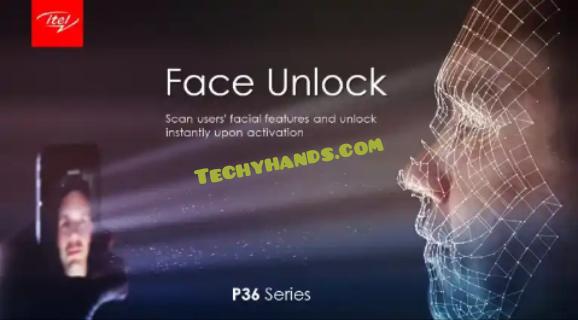 iTel P36 Face Unlock