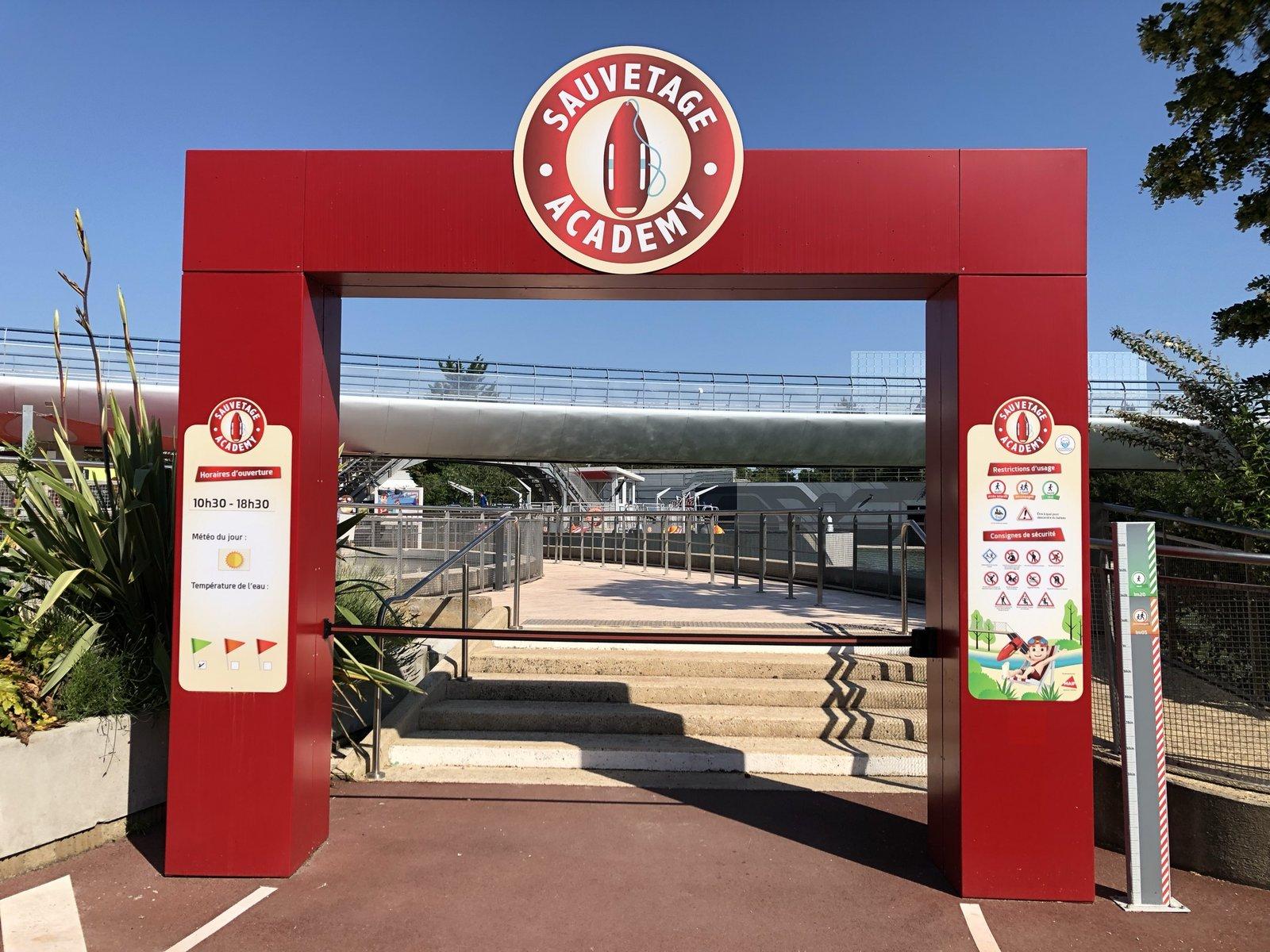 Sauvetage Academy · 2019 Futuropolis-Sauvetage-Academy-arche