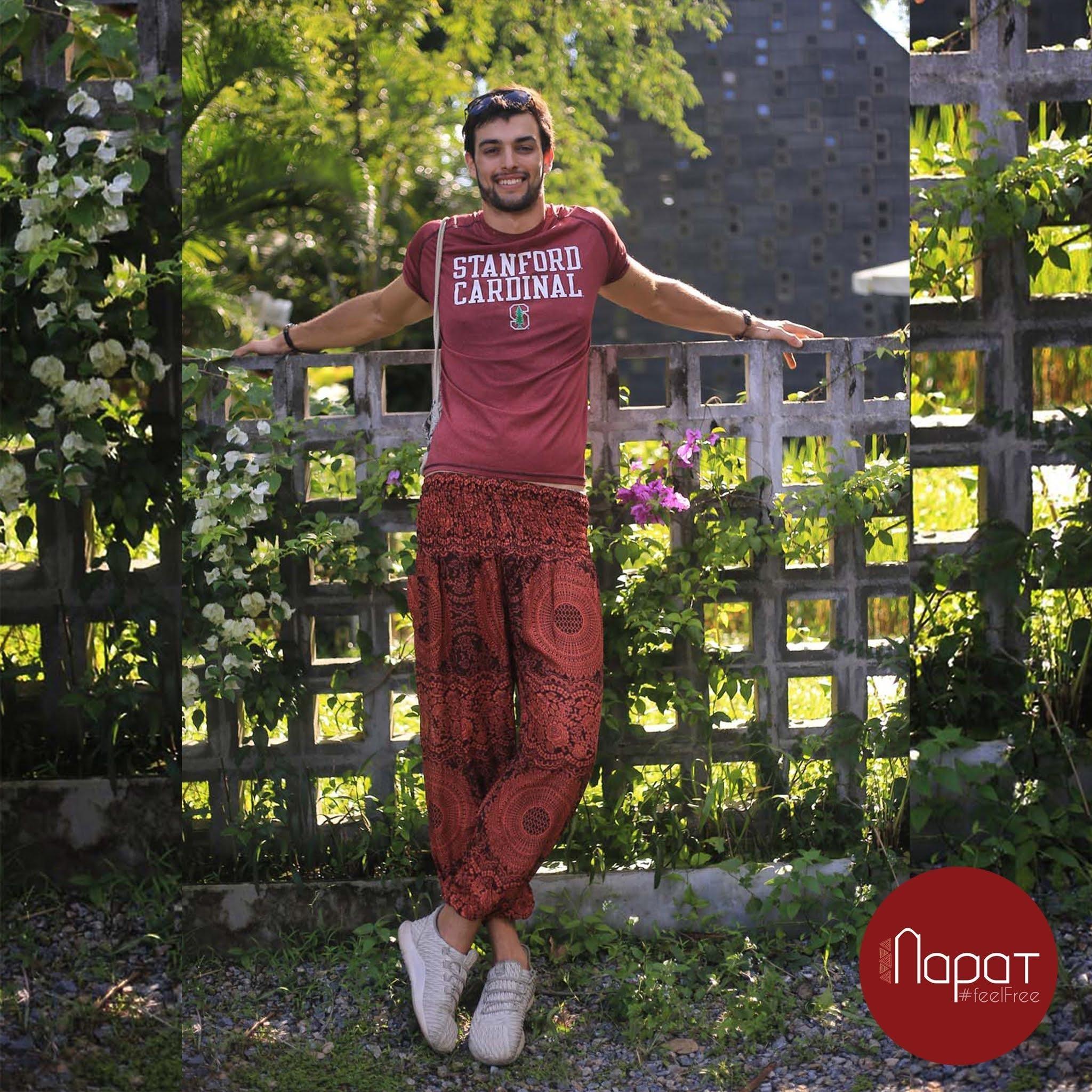 Best outfit Choices for Men's Harem pants