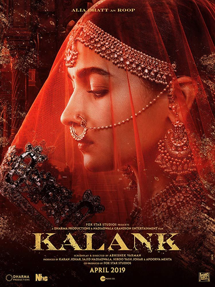 Kalank 2019 Hindi Movie Pre-DVDRip x264 AC3