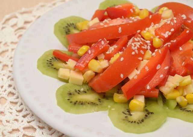 овощные салаты рецепты с фото простые
