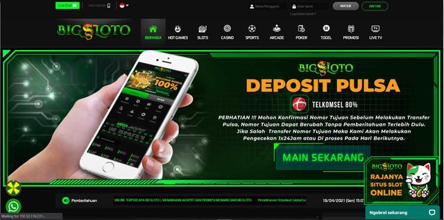 BIGSLOTO - Situs Judi Slot Online Terpercaya Jackpot Terbesar 2021
