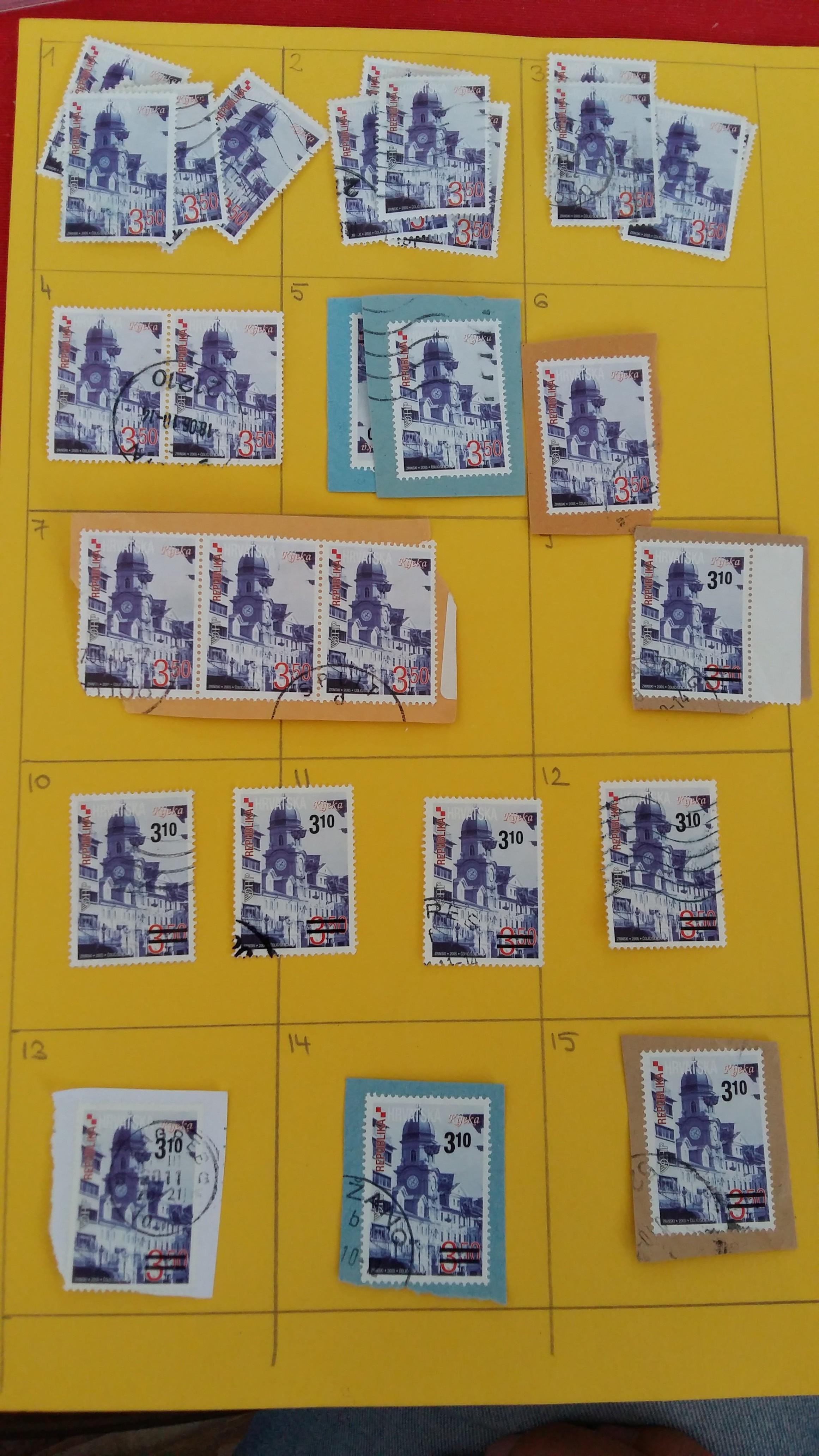 Croatia double stamps 20190928-142736