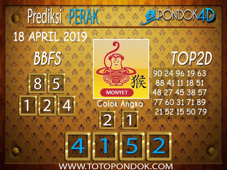 Prediksi Togel PERAK PONDOK4D 18 APRIL 2019
