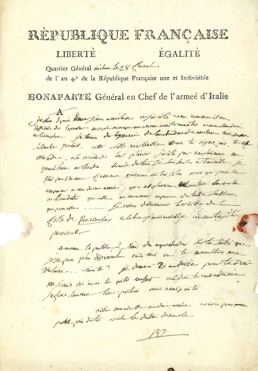 [DROUOT] Lettres de Napoléon à Joséphine ! Plus-de-500-000-pour-3-lettres-de-Napoleon