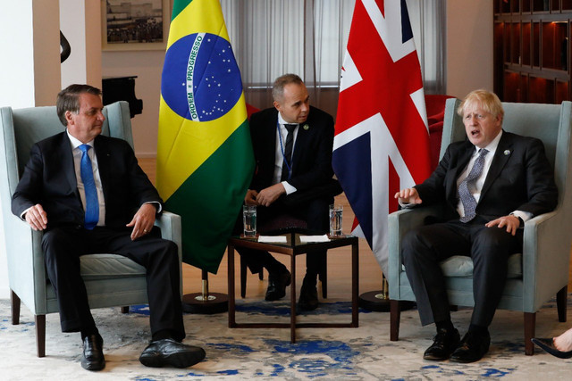 Jair-Bolsonaro-Boris-Johnson-encontro-Nova-York-Tenente-Mozart-Aragao-twitter