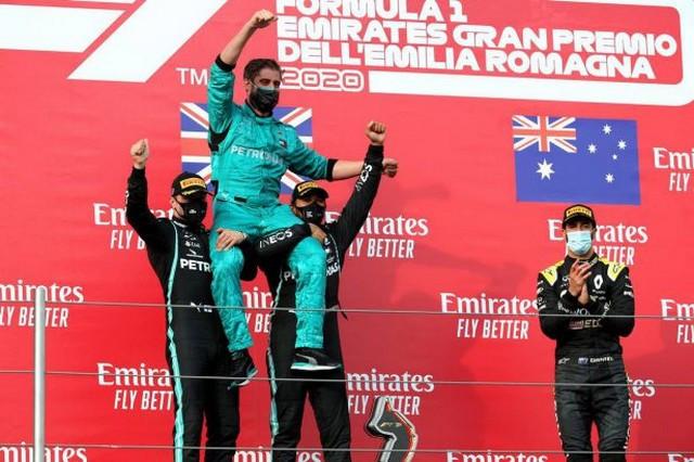 F1 GP Émilia Romagna 2020 : Vitoire Lewis Hamilton, le titre pour Mercedes 1067128
