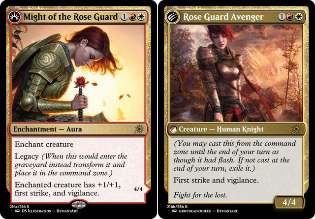 Might of the Rose Guard