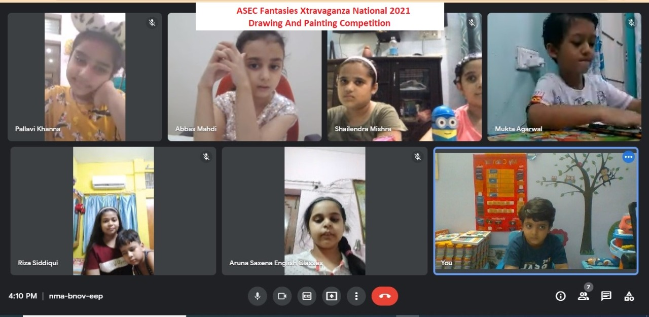 ASEC Aruna Saxena English Classes Fantasies Xtravaganza National Online Event 2021