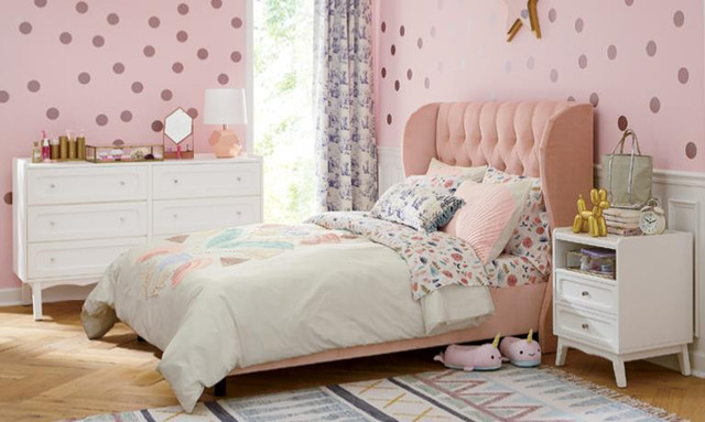Design ideas & drawings for Girls' bedrooms