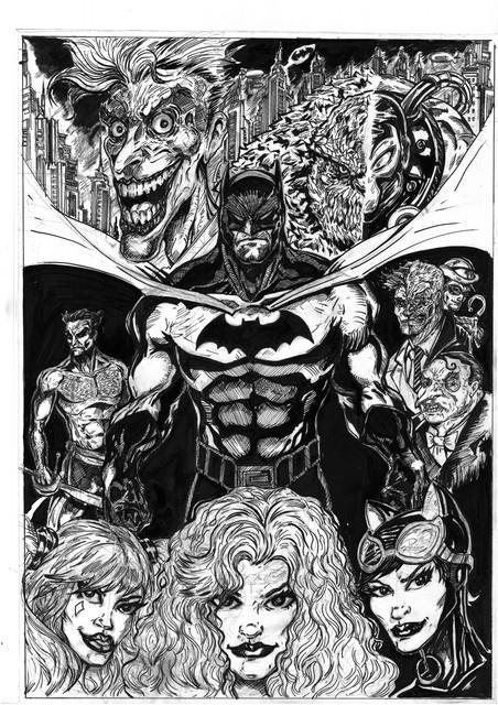 Batman-and-the-foes-k