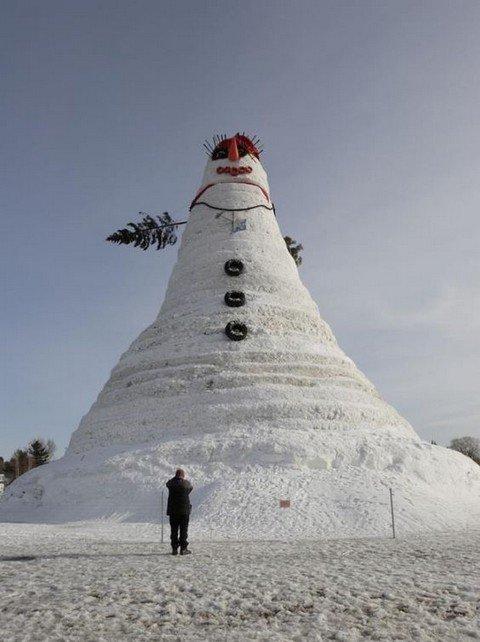 Зима близко – значит, наступит время снеговиков