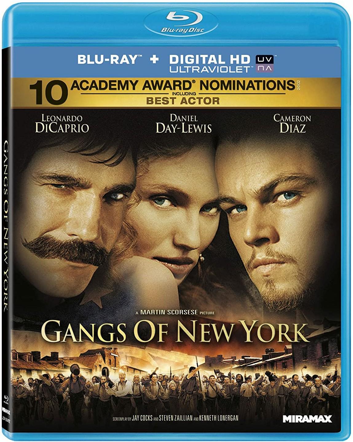 Gangs of New York 2002 Hindi Dual Audio 720p BluRay ESubs 1.2GB | 600MB Download