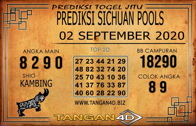 PREDIKSI TOGEL SICHUAN TANGAN4D 02 SEPTEMBER 2020