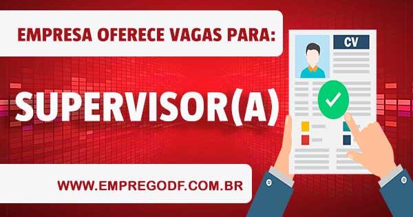EMPREGO PARA SUPERVISOR(A) DE TELEATENDIMENTO