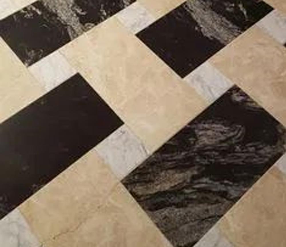 desain lantai granit Modern Granite Design