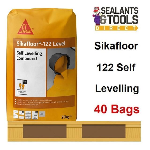 Sika-Sikafloor-122-Level-25kg-SKLEV2025-Pallet