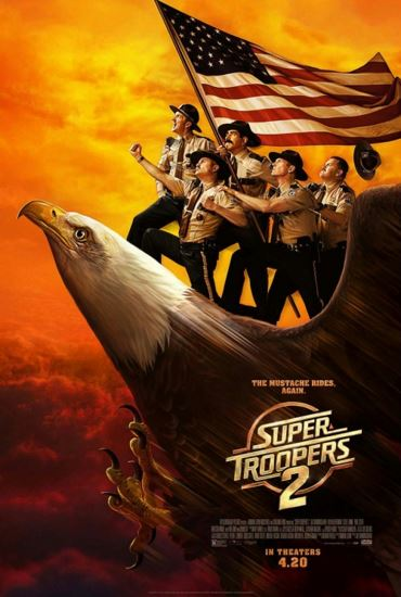 Straż wiejska 2 / Super Troopers 2 (2018) PL.BRRip.XviD-GR4PE | Lektor PL
