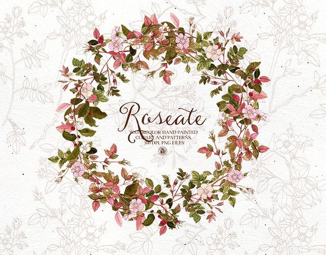 Roseate-watercolor-clipart-and-patterns-set.jpg