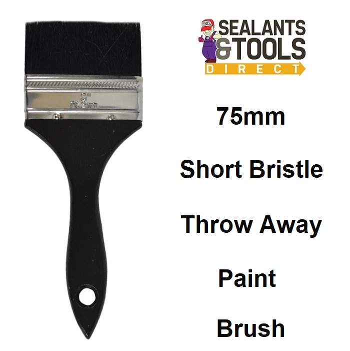 Throw Away Paint Brush 3 Inch 75mm