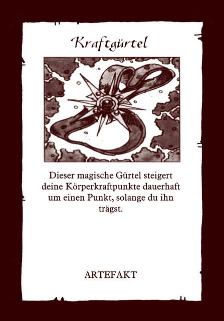 Artefakt-Kraftguertel