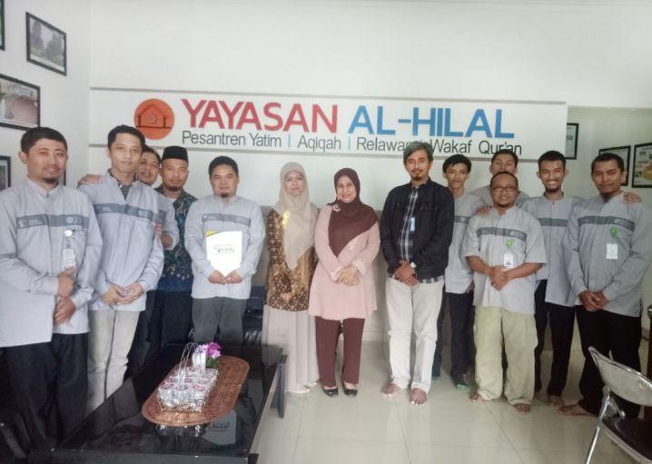 Kunjungan Tim Verifikasi Kementrian Agama Pusat ke Kantor Yayasan Al-Hilal 3