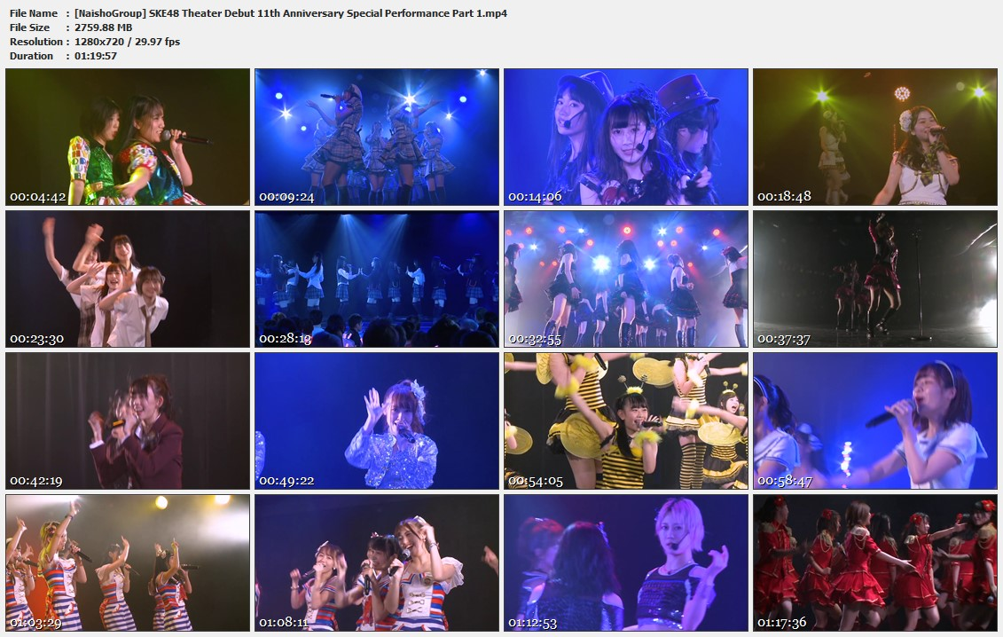 Naisho-Group-SKE48-Theater-Debut-11th-Anniversary-Special-Performance-Part-1-mp4
