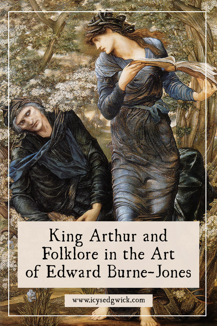 Artist Edward Burne-Jones was obsessed with King Arthur until the day he died. Which other legends and fairy tales appeared in his work?