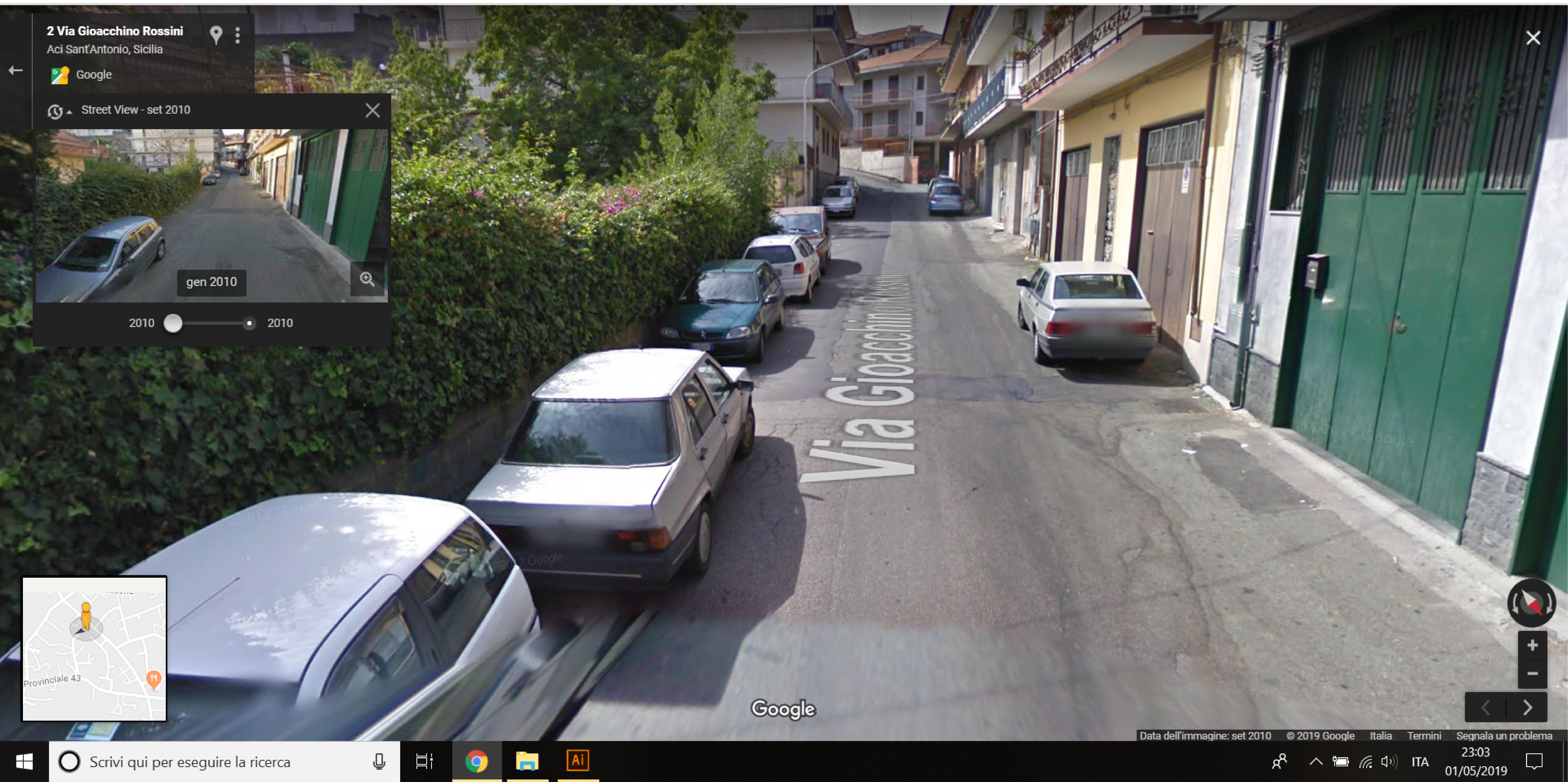 Auto  storiche da Google Maps - Pagina 10 Aci-Sant-Antonio-Via-Rossini-02