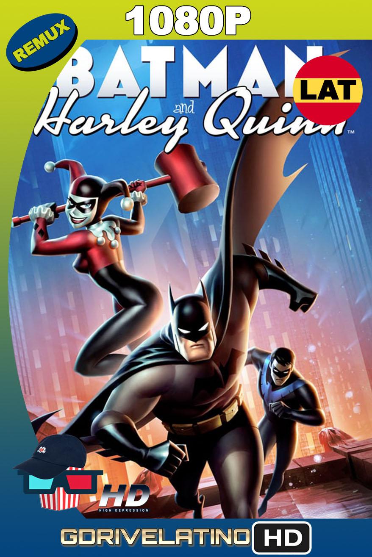 Batman y Harley Quinn (2017) BDRemux 1080p Latino-Inglés MKV