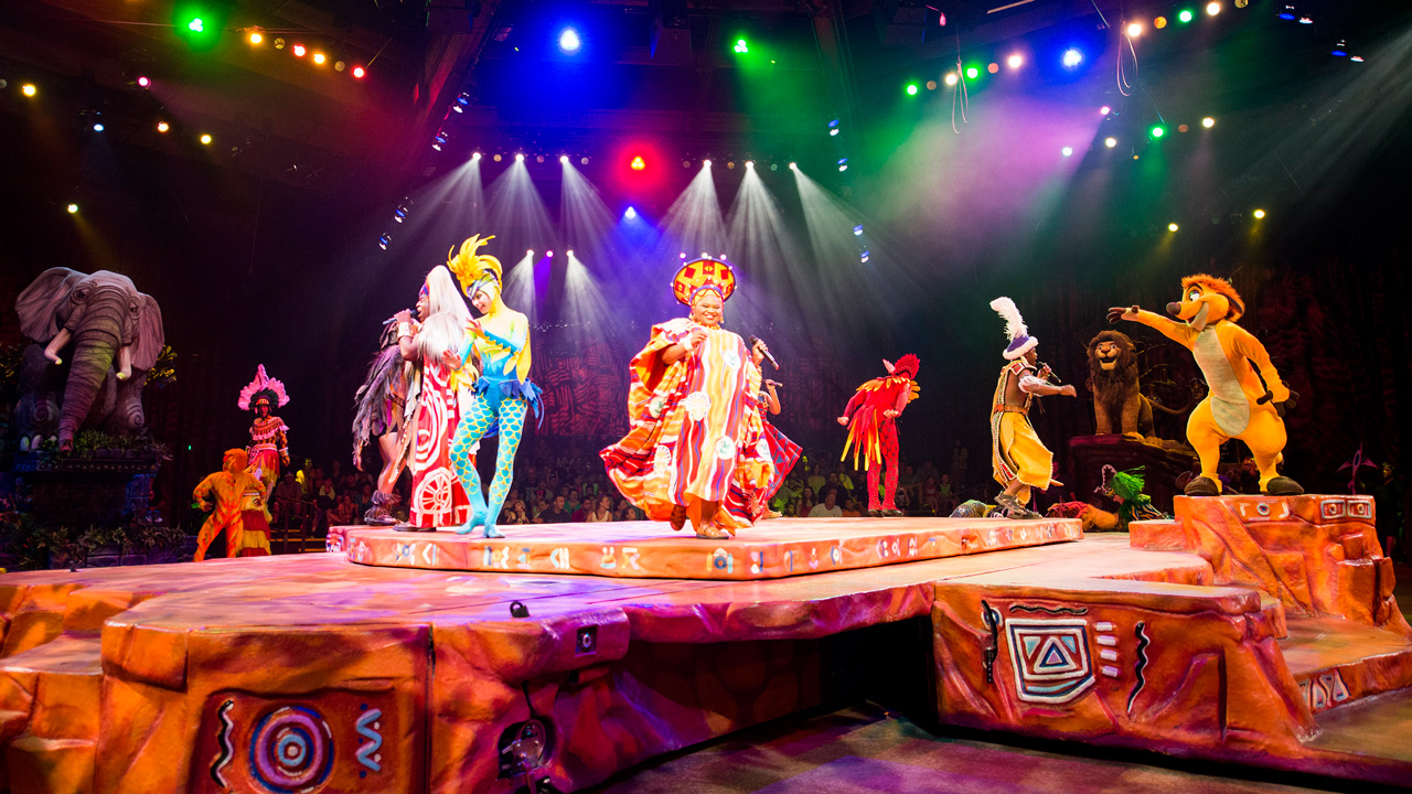 The Festival of the Lion King at Walt Disney World