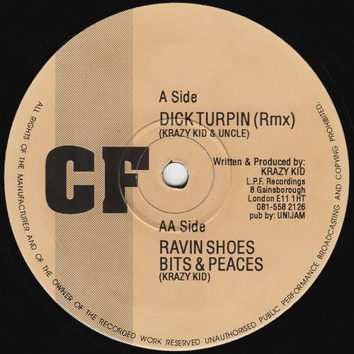 Download Krazy Kid - Dick Turpin Remix / Ravin Shoes / Bits & Peaces mp3
