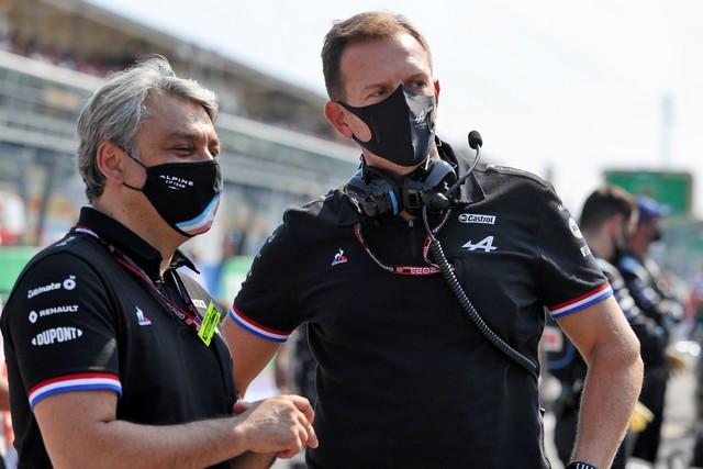 Alpine poursuit sa série d'entrées dans les points avec un double top dix à Monza Grand-Prix-d-Italie-2021-Luca-DE-MEO-Laurent-ROSSI-13